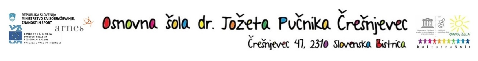 OŠ dr. Jožeta Pučnika, Črešnjevec