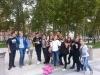 Devetošolci na ogledu Ljubljane